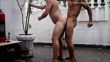 sexo gay com bombado